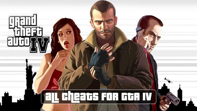 Codes sur GTA 4