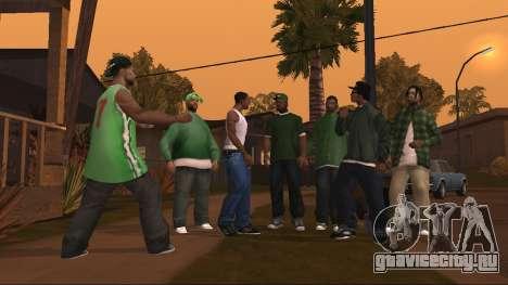 Скриншот GTA San Andreas для Android
