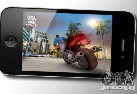 Grand Theft Auto: Vice City на iOS