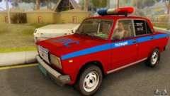 ВАЗ 2107 Полиция для GTA San Andreas