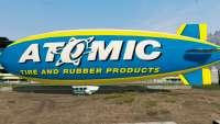 Atomic Blimp из GTA 5 - вид сбоку