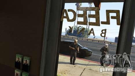 Ограбление Fleeca (Fleeca Job) в GTA Online