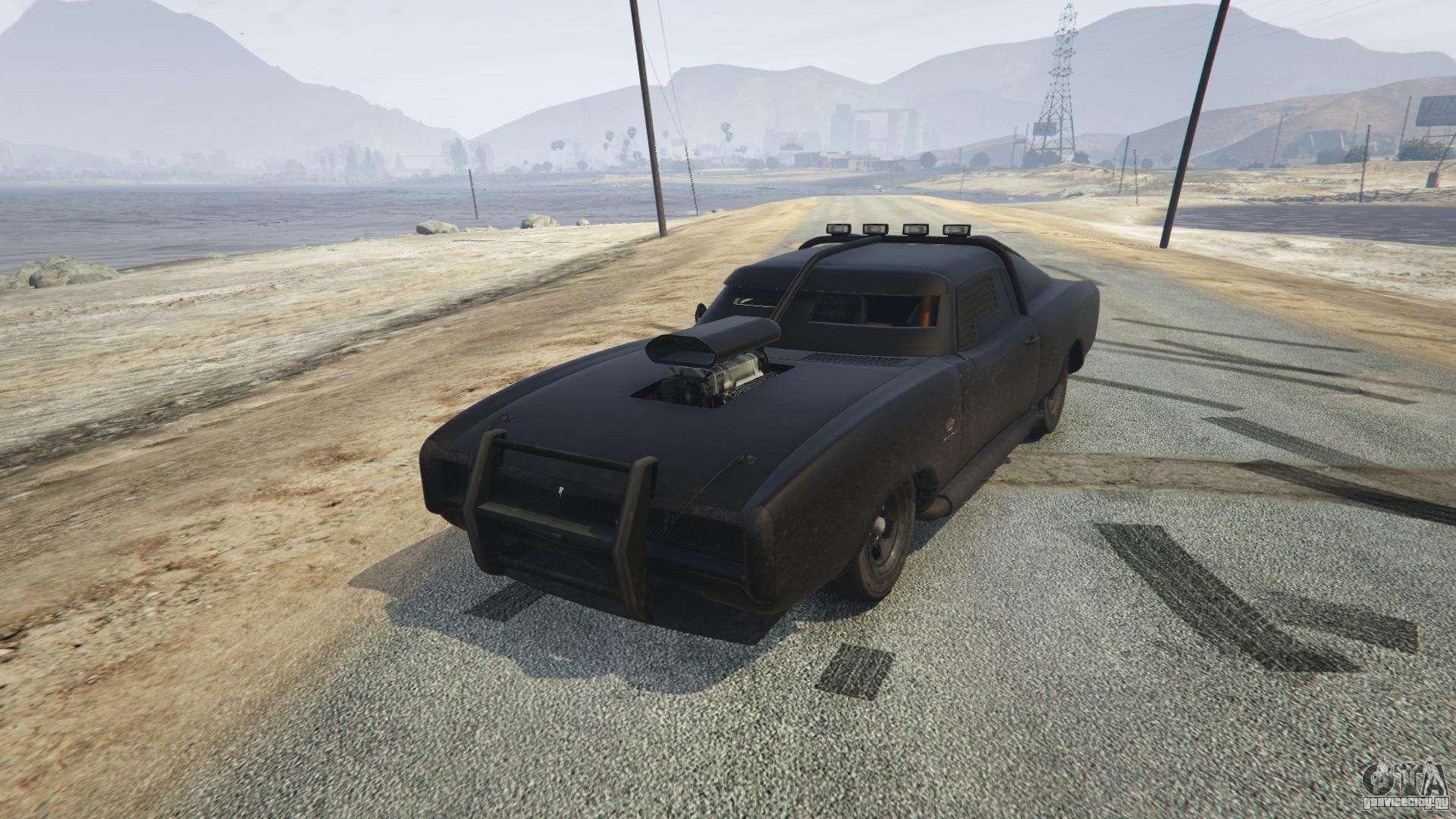 Duke O'Death из GTA 5 - вид спереди