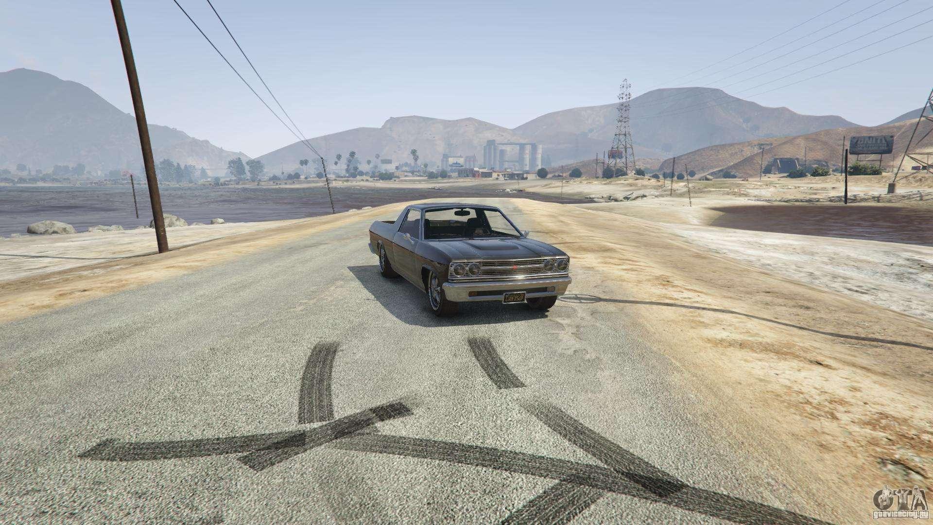 Picador из GTA 5 - вид спереди