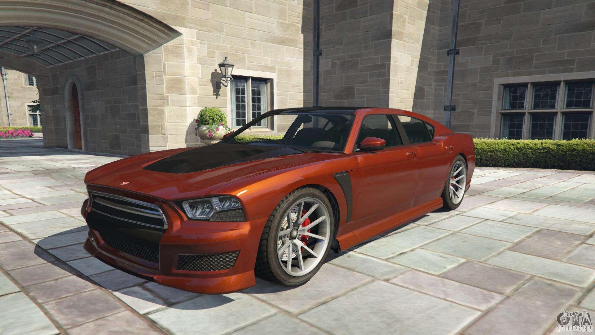 Bravado Buffalo S из GTA 5 - вид спереди