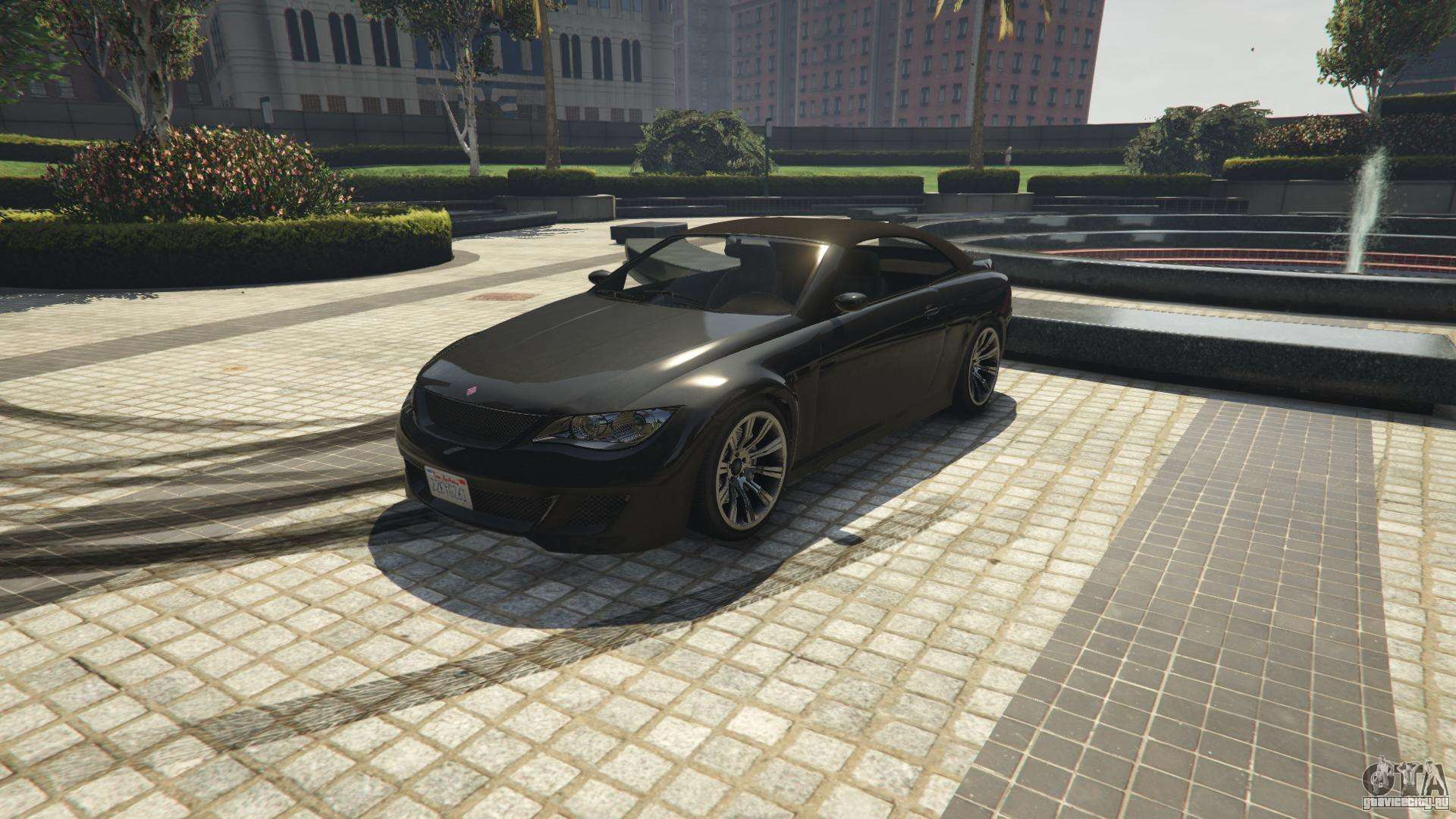 Ubermacht Zion Cabrio из GTA 5 - вид спереди