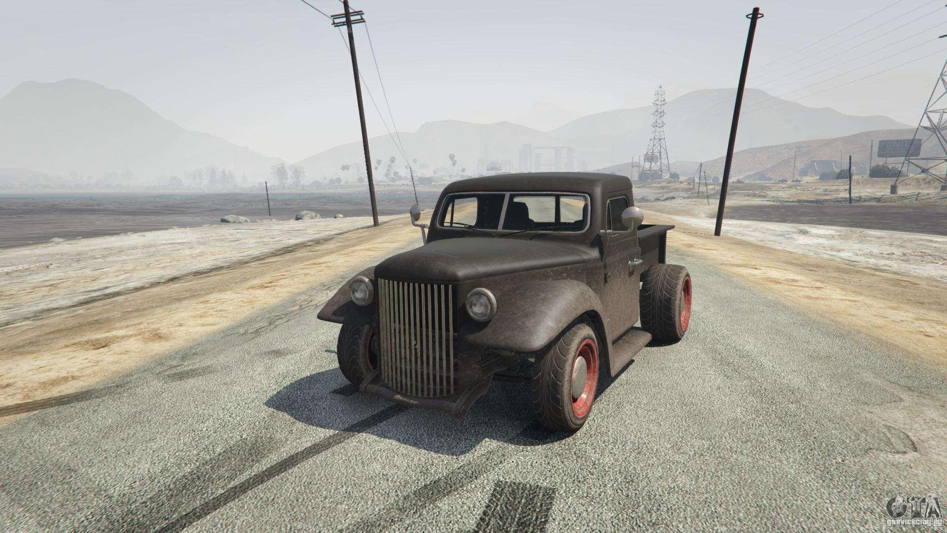 Rat-Truck из GTA 5 - вид спереди