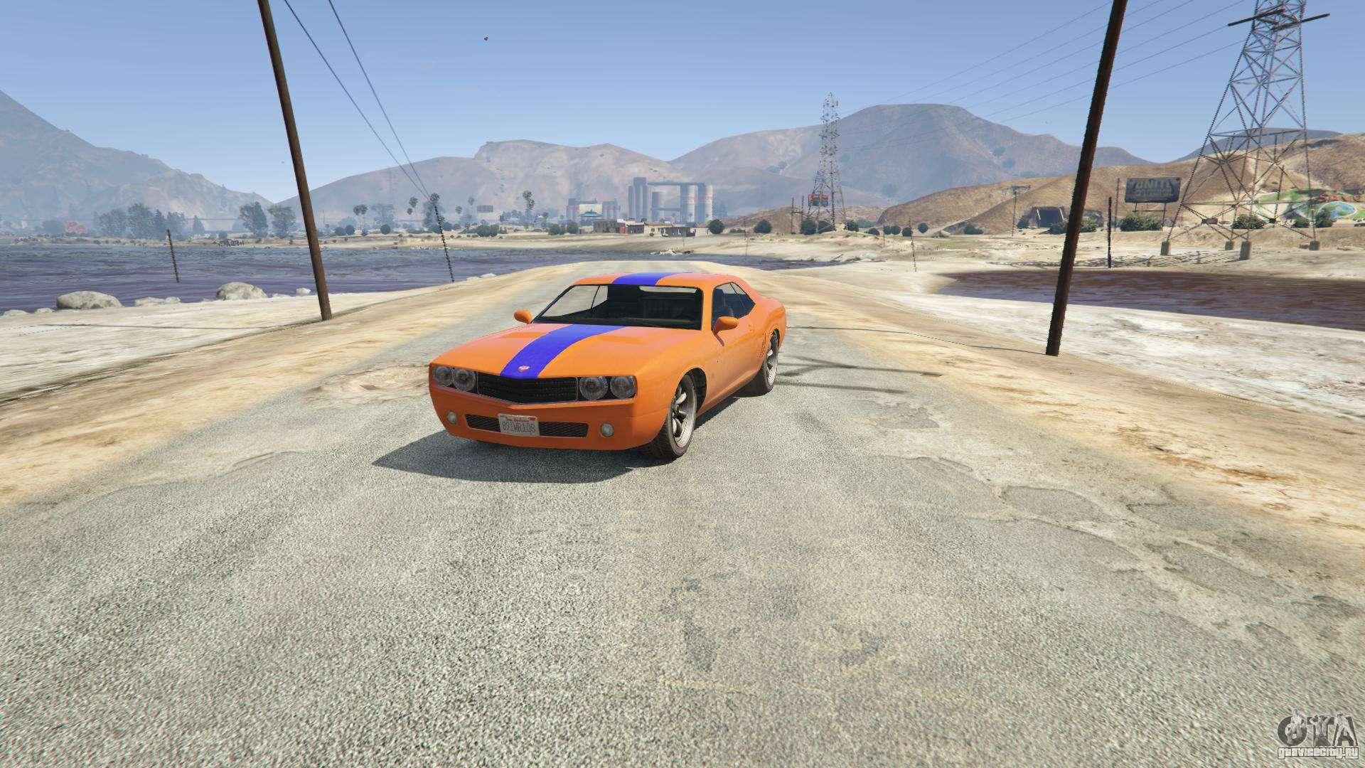 Gauntlet из GTA 5 - вид спереди