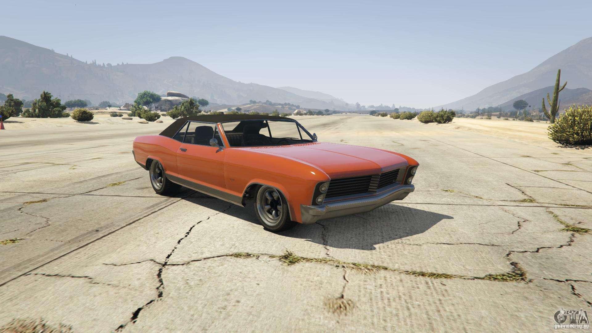 Albany Buccaneer из GTA 5 - вид спереди