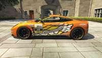 Dewbauchee Massacro Racecar из GTA 5 - вид сбоку