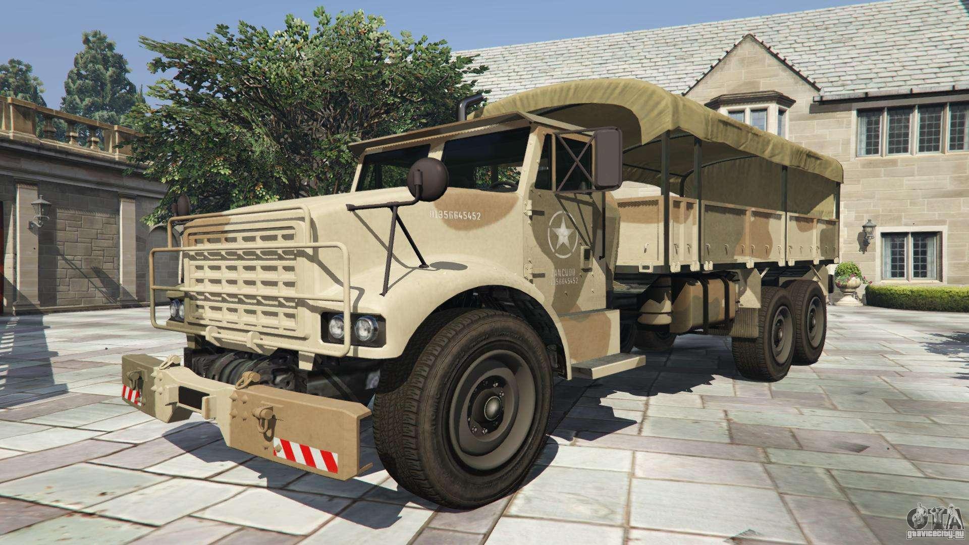 GTA 5 HVY Barraks Ol - вид спереди