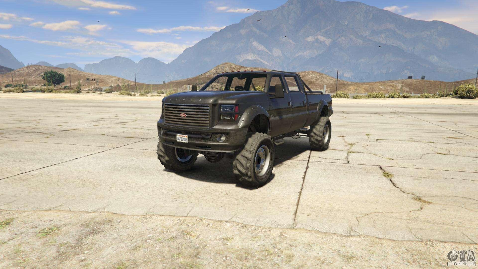 GTA 5 Vapid Sandking XL - вид спереди