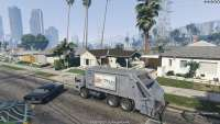 Trash Truck - угоняем мусоровоз