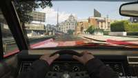 Vapid Chino из GTA 5 - вид из кабины