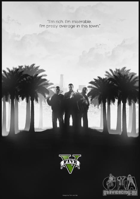 GTA 5 fan poster