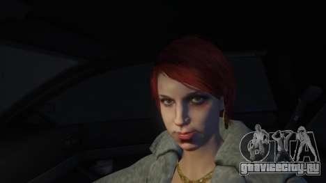 Шлюху точно бьет её сутенёр в GTA 5