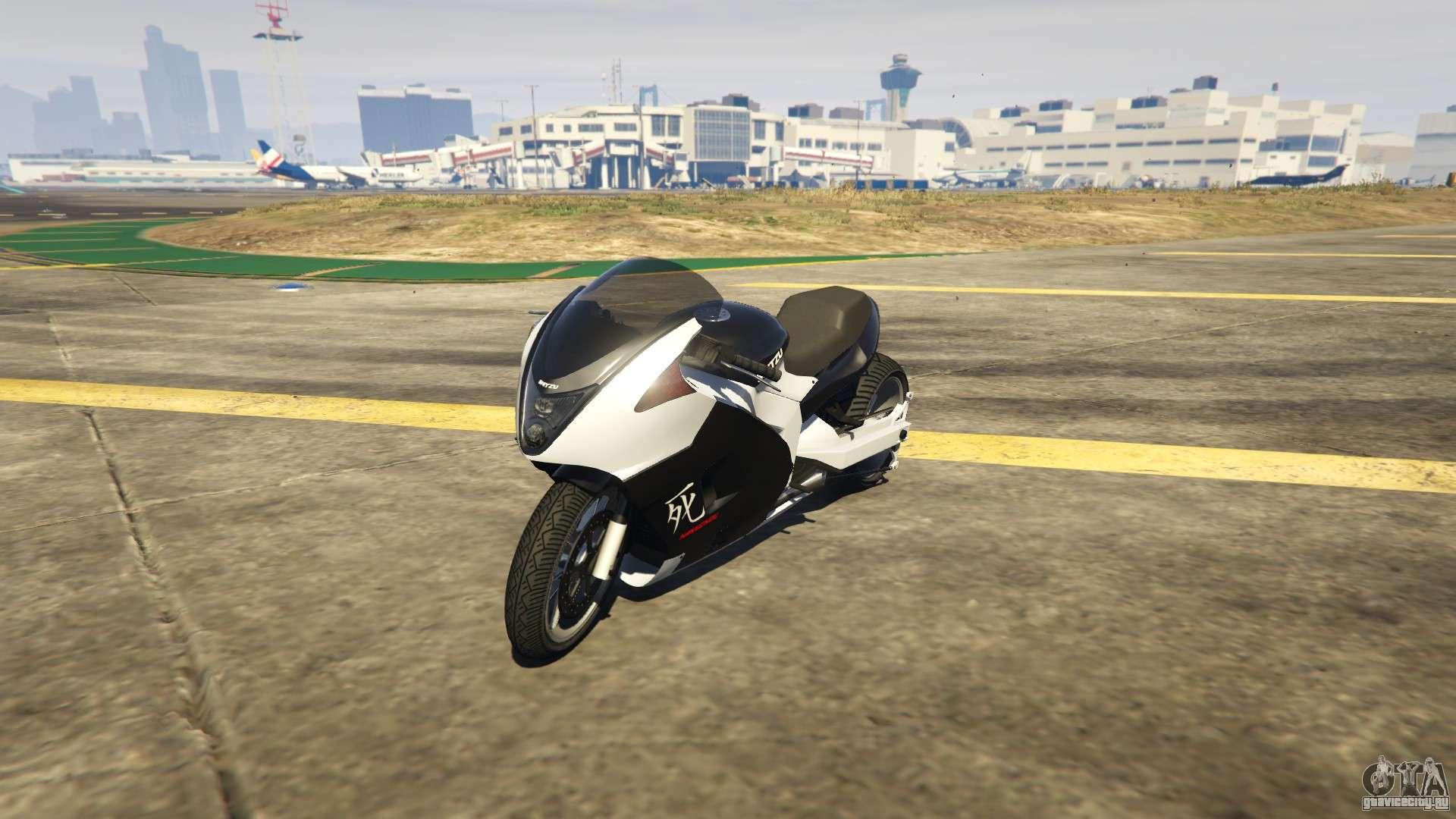 Изящный и быстрый мотоцикл Shitzu Hakuchou Drag