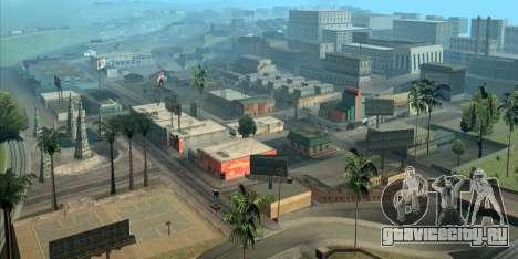 GTA San Andreas помогает ориентироваться в Лос Анджелесе