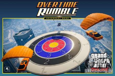 Режим состязаний Overtime Rumble для GTA Online