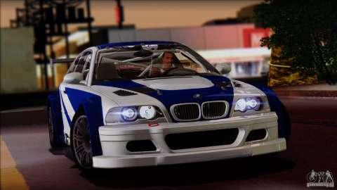 Эксклюзив: BMW M3 E46 GTR