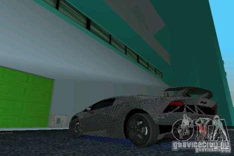 Lamborghini Sesto Elemento для GTA Vice City вид слева