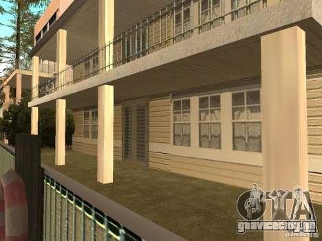 Измененный дом на пляже Санта-Мария 2.0 для GTA San Andreas четвёртый скриншот