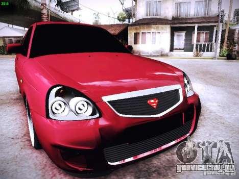 ВАЗ 2170 для GTA San Andreas вид сбоку