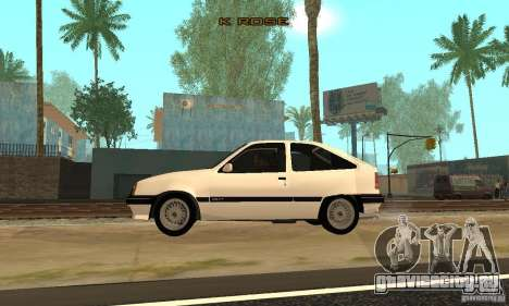 Opel Kadett E для GTA San Andreas вид слева