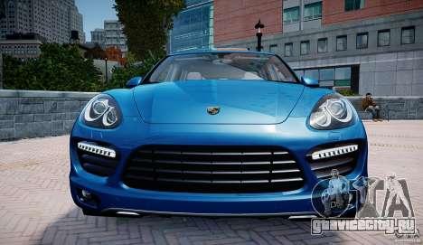 Porsche Cayenne Turbo 2012 для GTA 4 вид сзади