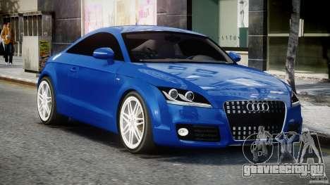 Audi TT RS Coupe v1.0 для GTA 4 вид сзади