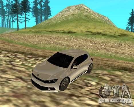 VW Scirocco III Custom Edition для GTA San Andreas вид слева