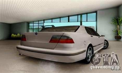 Saab 9-5 Sedan Tuneable для GTA San Andreas