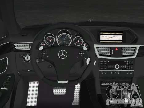 Mercedes-Benz E63 AMG для GTA Vice City двигатель