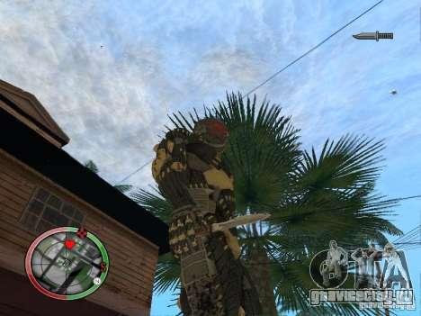 Сборник оружий Crysis 2 для GTA San Andreas четвёртый скриншот