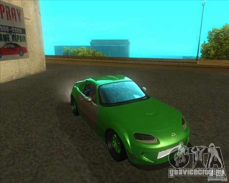 Mazda Miata MX-5 Konguard 2007 для GTA San Andreas
