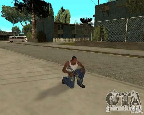 Оружия из STALKERa для GTA San Andreas десятый скриншот