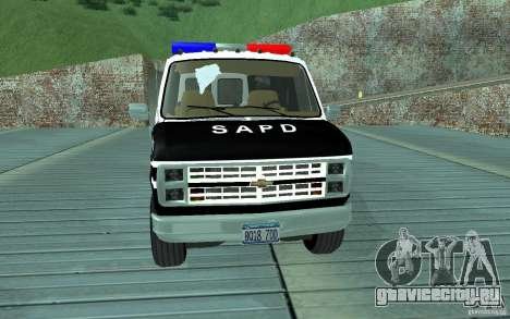 Chevrolet G20 Enforcer для GTA San Andreas вид слева