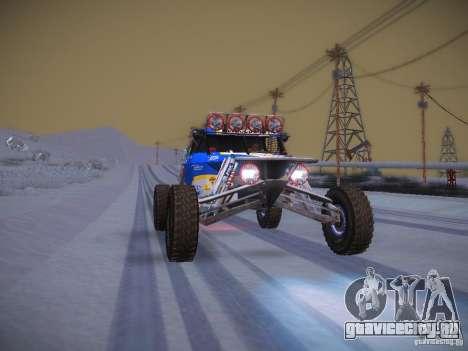 Ickler Jimco Buggy для GTA San Andreas вид снизу