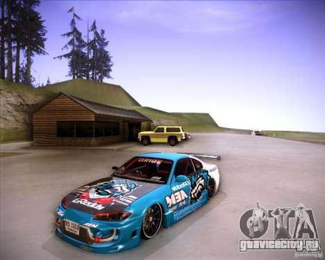 Nissan Silvia S15 Blue Tiger для GTA San Andreas