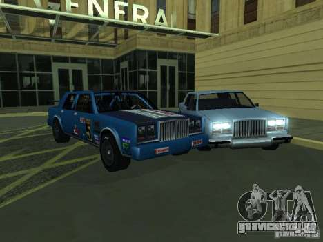 GreenWood Racer для GTA San Andreas вид слева