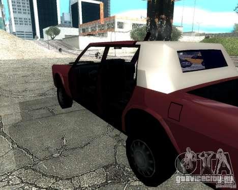 Derby Greenwood Killer для GTA San Andreas вид сзади слева