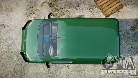 Fiat Fiorino 2008 Van для GTA 4 вид справа