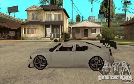 Dodge Charger 2009 для GTA San Andreas вид слева