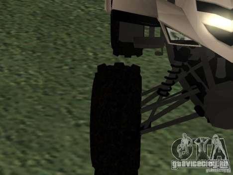 Ducati Quad HQ 110cc для GTA San Andreas вид сзади слева