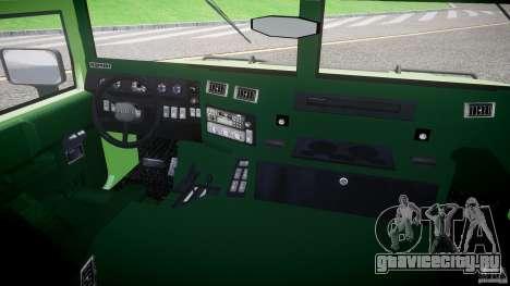 Hummer H1 для GTA 4 вид сзади