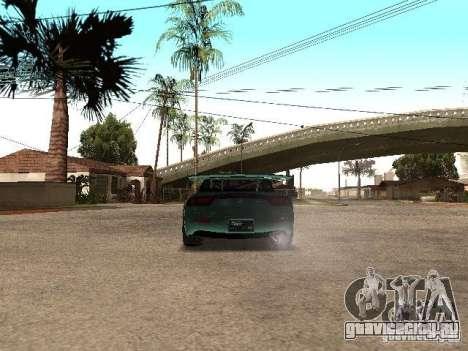 Mazda RX-7 Pro Street для GTA San Andreas вид сзади слева