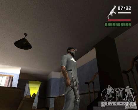 Mp5HD для GTA San Andreas третий скриншот