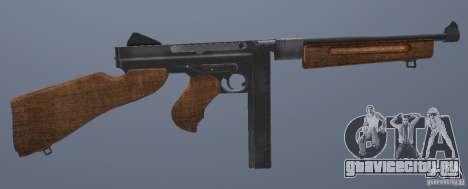 M1 Thompson для GTA San Andreas четвёртый скриншот