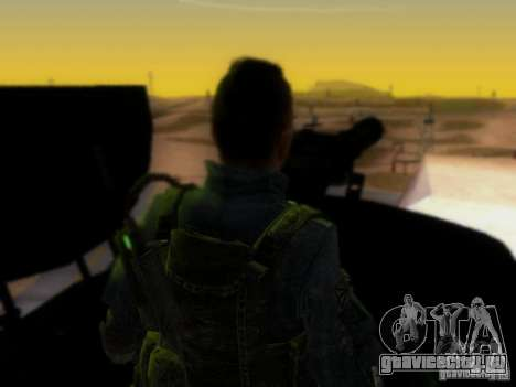 Suv Call Of Duty Modern Warfare 3 для GTA San Andreas салон