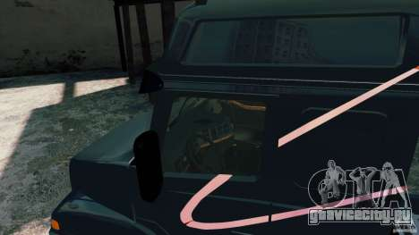 Volvo NH12 для GTA 4 вид сзади